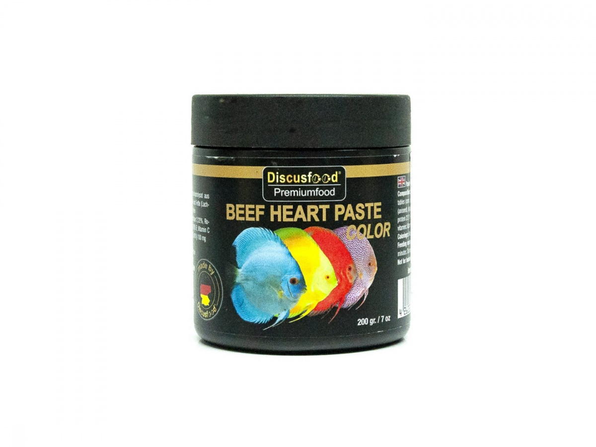 DISCUSFOOD Beef Heart Paste Color 200g