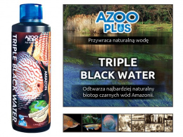 AZOO plus TRIPLE BLACK WATER biotop amazonki 250ml