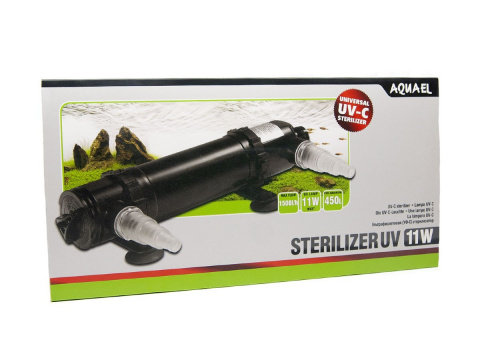 AQUAEL STERILIZER UV AS - 11W sterylizator lampa