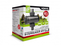 AQUAEL STERILIZER UV AS - 3W sterylizator lampa