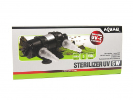 AQUAEL STERILIZER UV AS - 5W sterylizator lampa