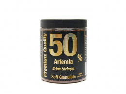 DISCUSFOOD 50% Artemia Soft Granulate 150g 300ml