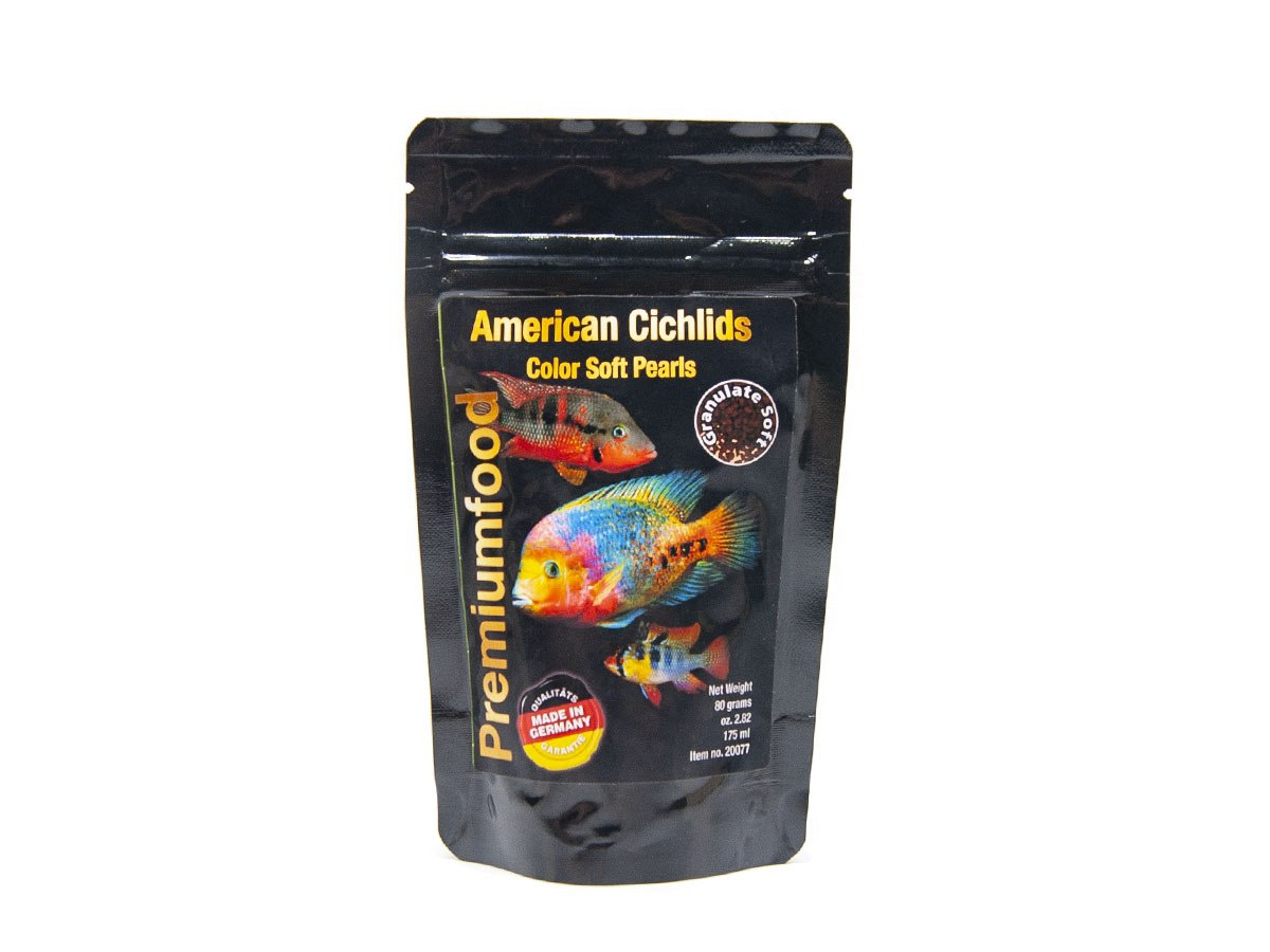 DISCUSFOOD American Cichlids Color Pearls 80g 175m