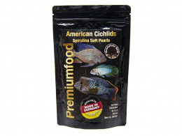 DISCUSFOOD American Cichlids Spirulina Pearls 230g