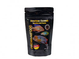 DISCUSFOOD American Cichlids Spirulina Pearls 80g