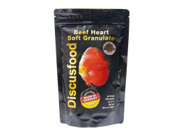 DISCUSFOOD Beef Heart Soft Granulate 230g 500ml