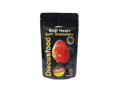 DISCUSFOOD Beef Heart Soft Granulate 80g 175ml