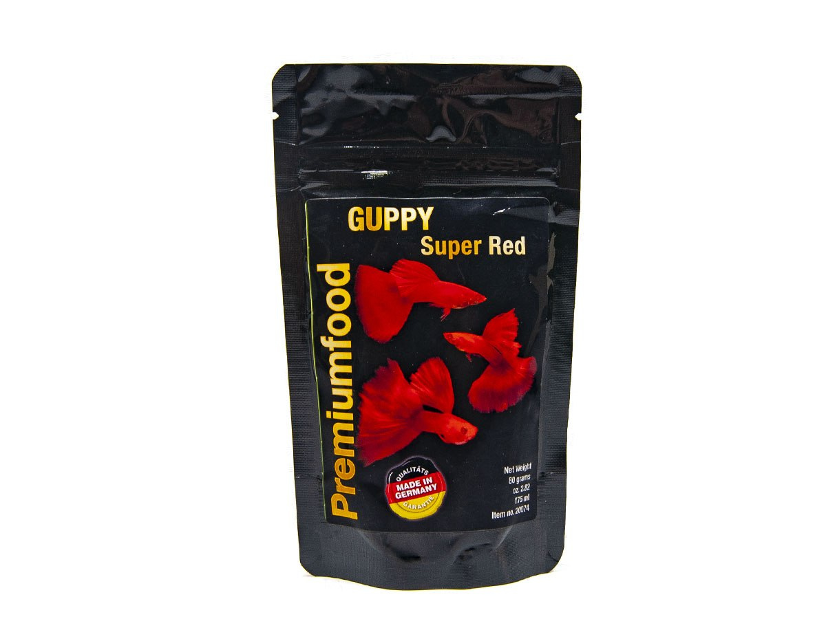 DISCUSFOOD GUPPY Super Red 80g 175ml