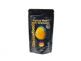DISCUSFOOD Turkey Heart Soft Granulate XL 80g 175m