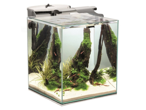 AQUAEL FISH & SHRIMP SET DUO białe AKWARIUM 49L