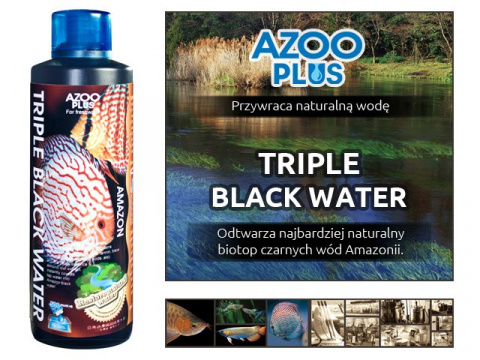 AZOO plus TRIPLE BLACK WATER 1000ml