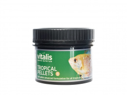 VITALIS TROPICAL PELLETS XS granulat 1mm 120g 250m